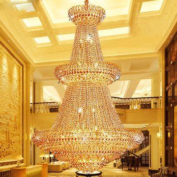 Gold crystal chandelier lamp american modern chandeliers lights gold crystal chandelier lamp american modern chandeliers lights fixture european home indoor lighting hotel lobby parlor lounge bar light chandelier online aloadofball Choice Image