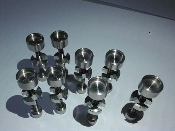 Titanium Nail 14mm 18.8mm Adjustable Nail smoking metal pipe click n vape for Incense Globe Dab Oil Rig Universal Hookah Accessories Bong