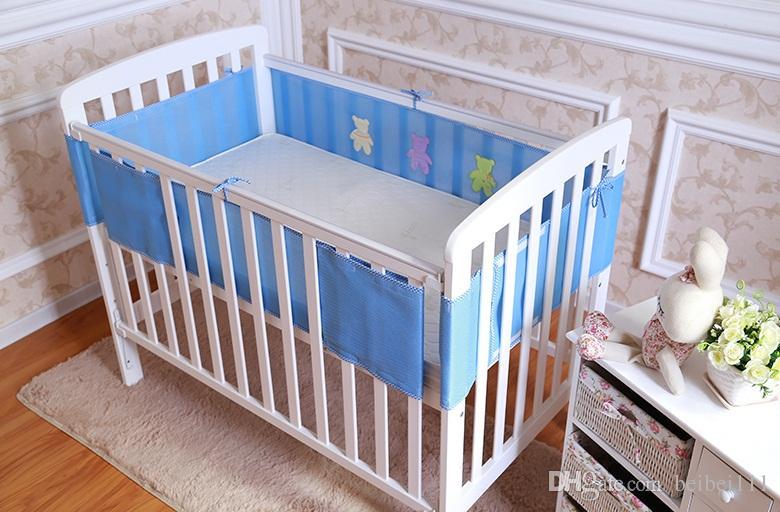 Baby Breathable Mesh Crib Bumper Baby Bedding Crib Liner