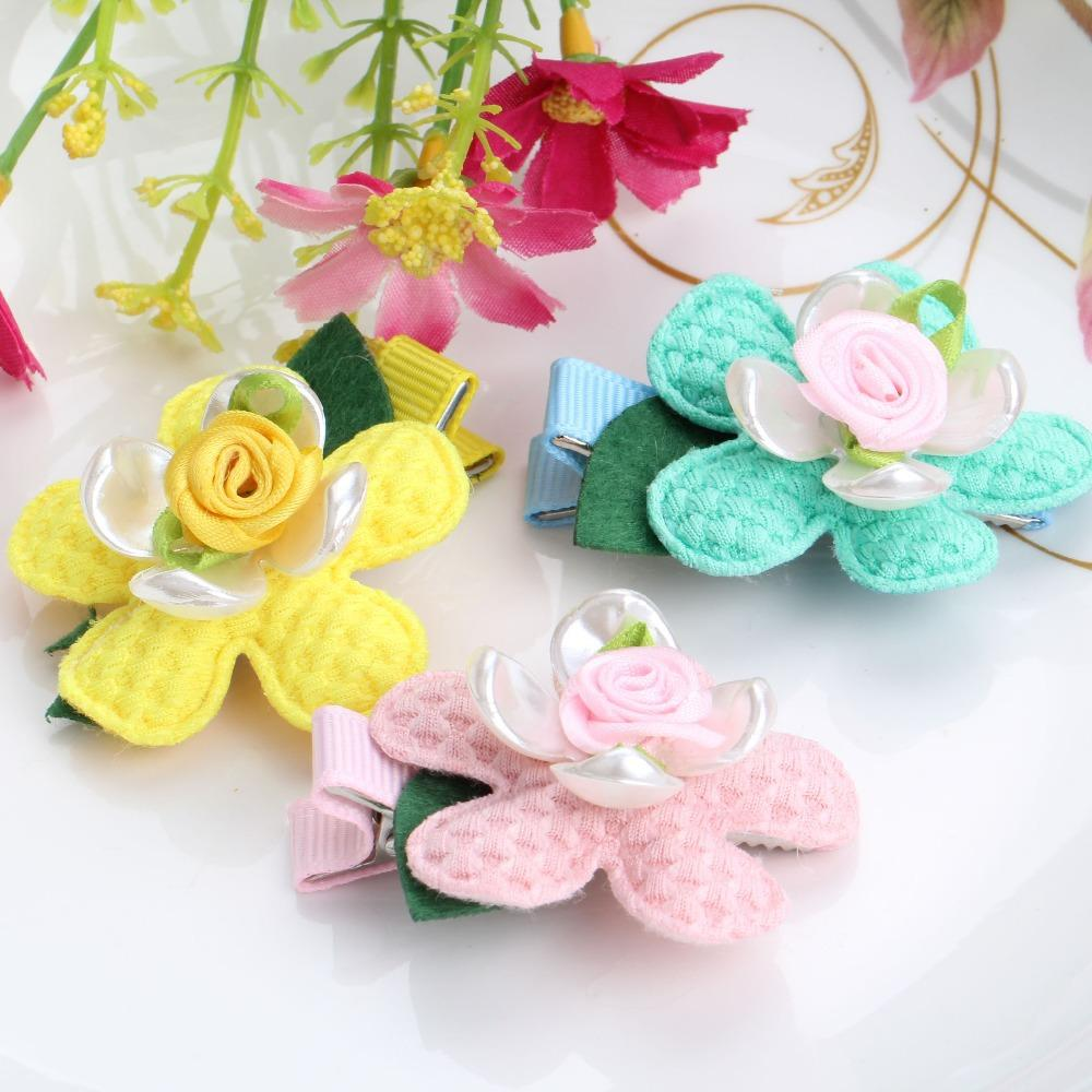 Wholesale Imitation Shell Flower Hairpins Girls Headwear Hair