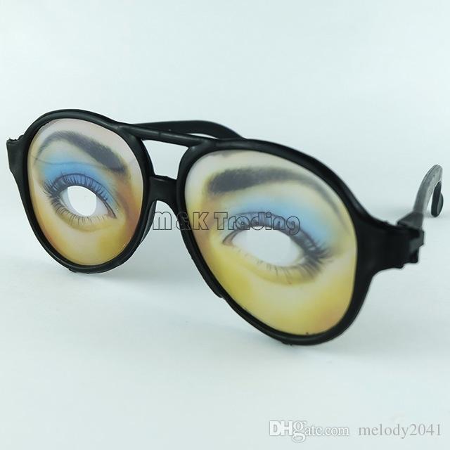 Mannen en vrouwen Grappige brillen Halloween-feestglazen Fancy Sunglasses Scene Props Zeer Groothandel
