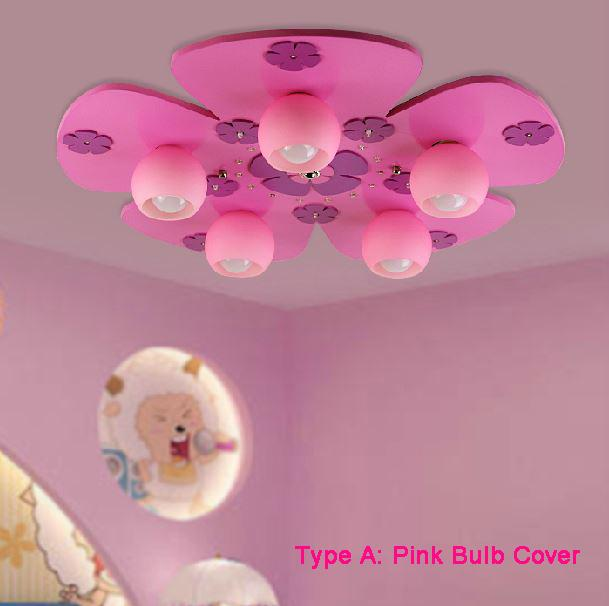 Home Girl Child Children Creative Cartoon Lamp Bedroom Lamp Study  Childrenu0027s Room Ceiling Lighting Lamps