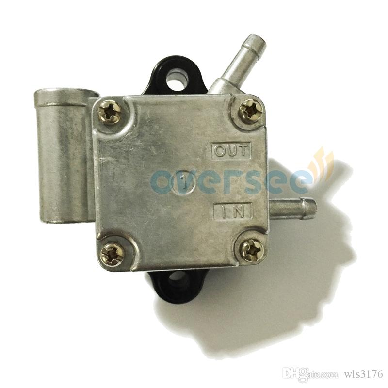 OVERSEE Fuel Pump ASSY 6AH-24410-00 for fitting Yamaha F20B Four Stroke Outboard Spare Engine Parts Model