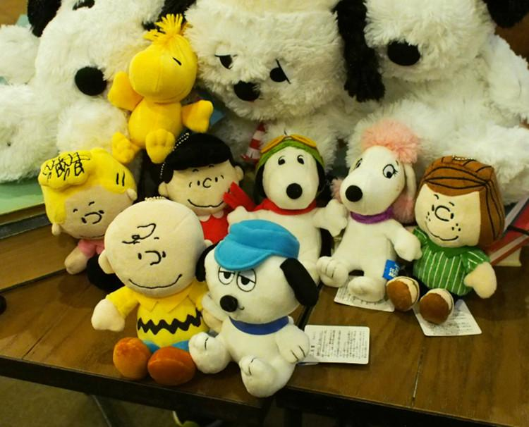 2019 Wholesale Peanuts Comics Plush Toys 20cm Snoopy Charlie Brown