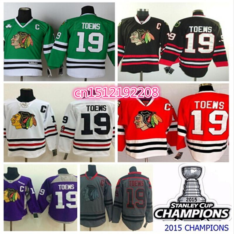 5d461e34b0d 2018 Factory Outlet, Chicago Blackhawks 19 Jonathan Toews Jersey,Black  White Red Green Dark Grey Purple Authentic Chicago Blackhawks Stitched Jer  From ...