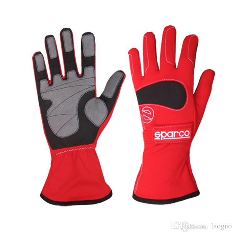2016 car racing gloves polyester leater windproof and fireproof size M L XL fit men and women