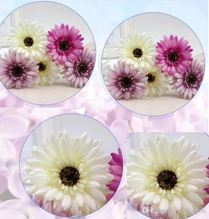 Afrikanisches Chrysanthemenblumenhochzeitsblume künstliche Blume silk Blumenausgangsdekorationblick natürliches freies Verschiffen SF009