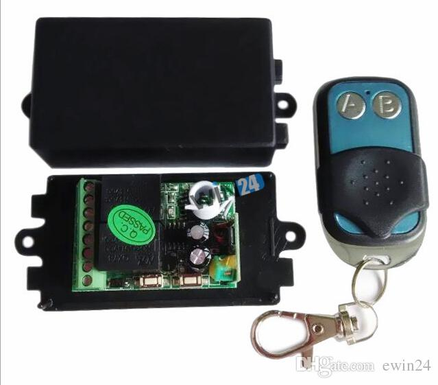 Brand new and high quality 12V DC Remote Control Universal Gate Garage Door Opener+ Transmitter Wireless
