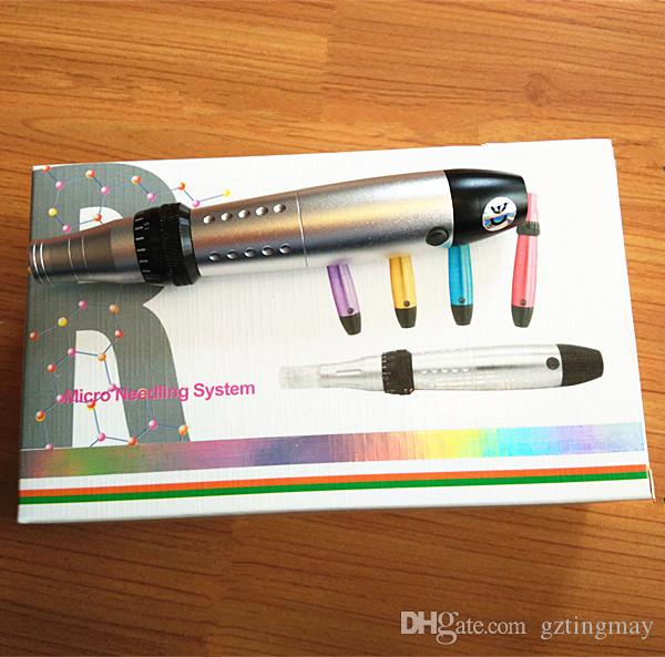 52ピース針カテクリッジ9ピンデジタルマイクロニードル療法装置電気Derma Pen ISO13485
