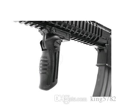 Składany Składany AK Tactical Foregrip Grip 20mm Picatinny Weaver Rail Mount 50 sztuk / 1lot przez DHL Free Ship