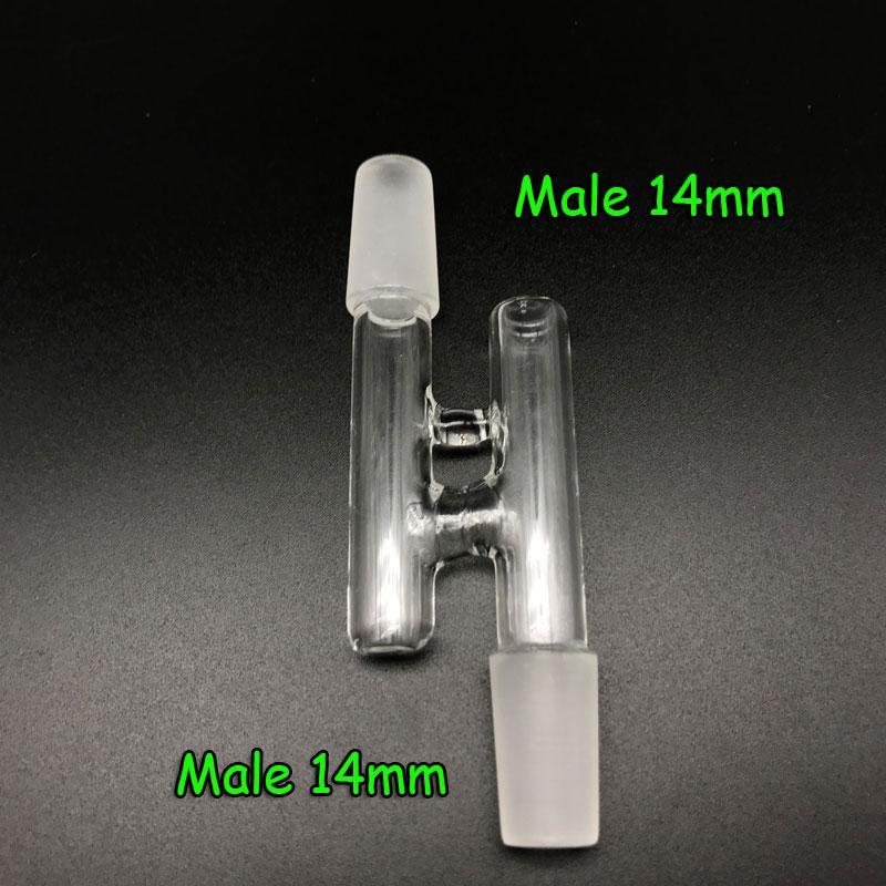 Adapter für Glasrückführung, männlich / weiblich, 14 mm, 18 mm, 10 Arten, Glasarten, Adapter, Adapter, Ash Catcher für Bohrinseln