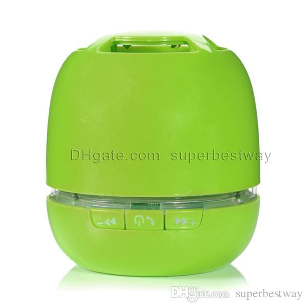 T6 Bluetooth Speakers led egg Mini Wireless Portable Speakers HI-FI Music Player Audio for S5 note4 Mp3/4 PSP Tablet DHL FREE Best MIS063