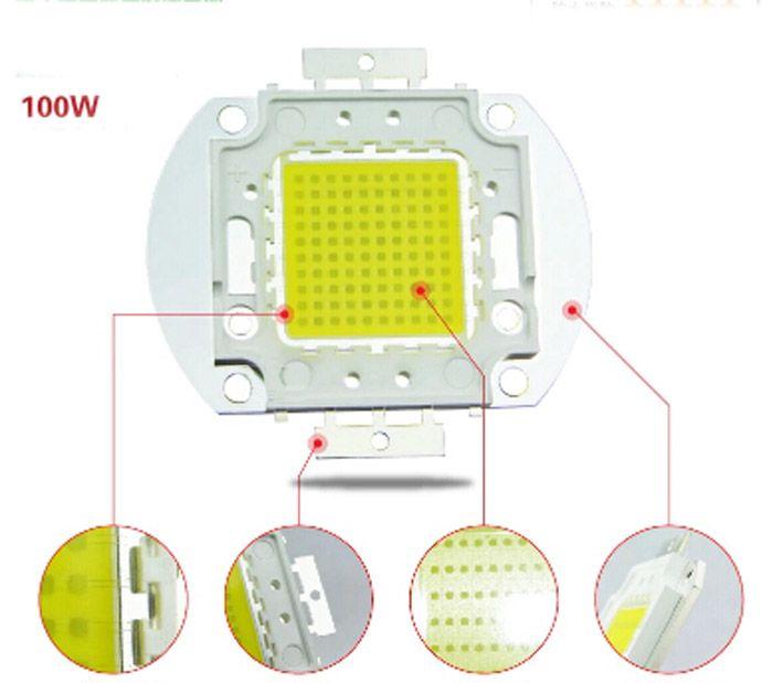 12V 24V الخبز مصدر الفيضانات أدت الصمام الكاشف ضوء CHIP الصمام الثنائي الباعث لل10W 20W 30W 50W 100W
