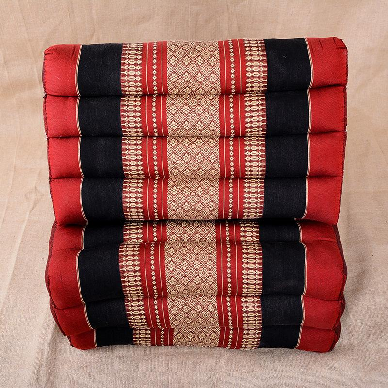 Thai Triangle Striped Sofa Cushion Pillow Cushion Backrest Cushion ...