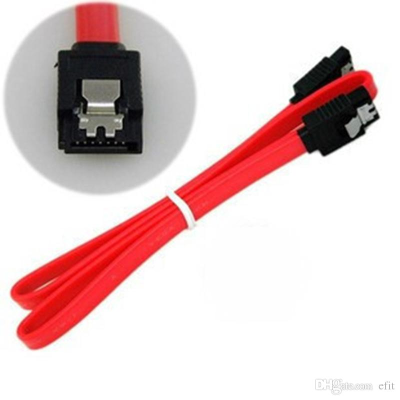 45 centímetros Right-angle L forma RT Red Serial ATA SATA HDD disco rígido cabo de sinal de dados HD DHL grátis