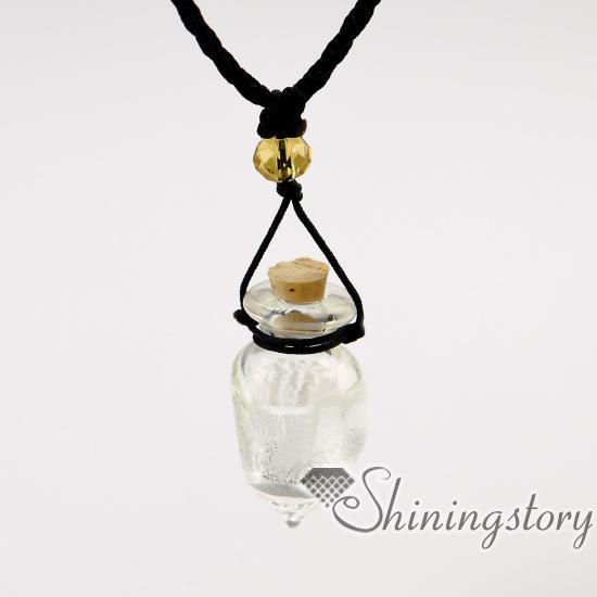 Vial Necklace For Ashes: Wholesale Ashes Keepsake Urn Necklaces Heart Urn Pendant