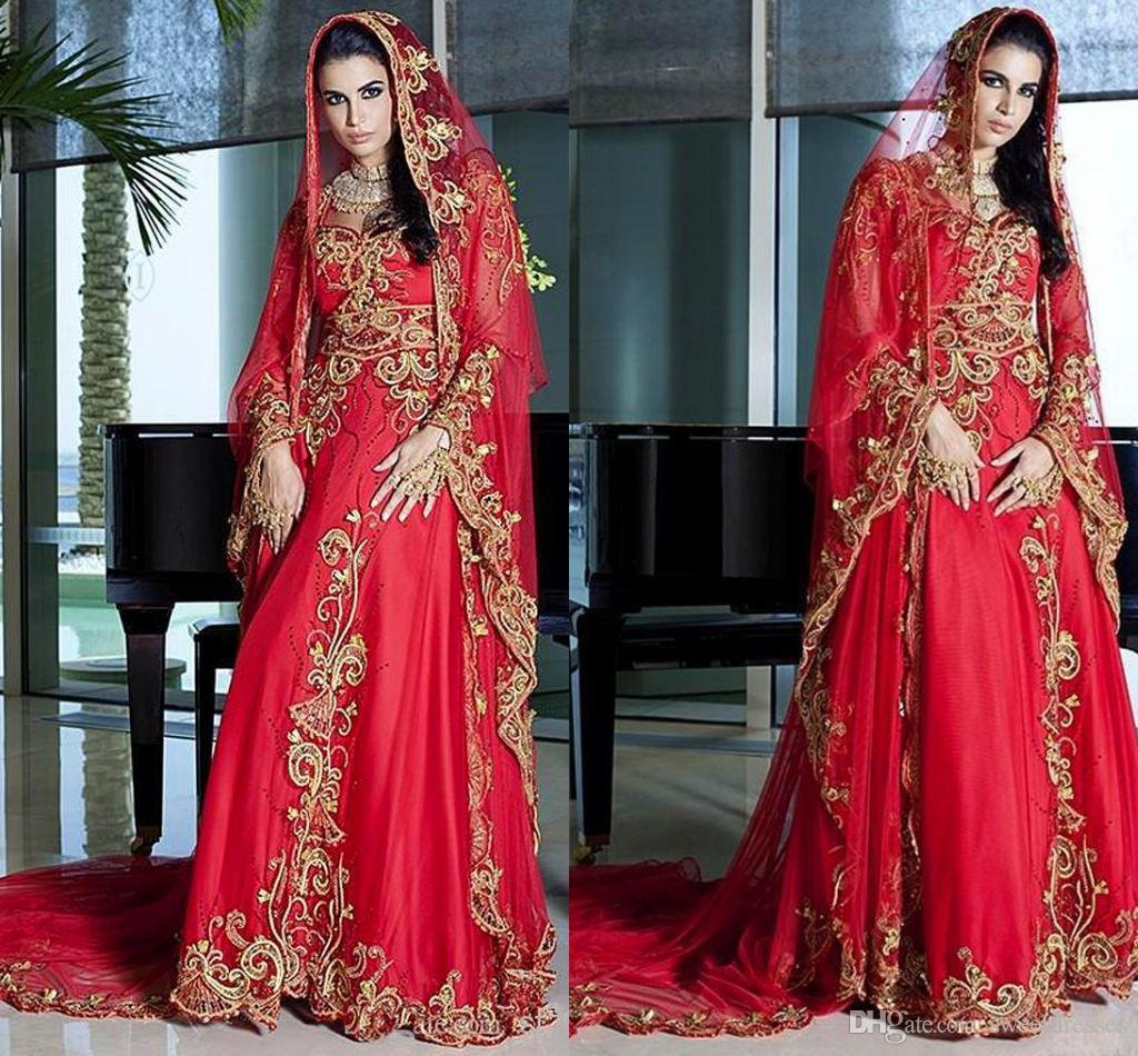 Discount 2015 Dubai Kaftan Wedding Gowns Square A Line Beading ...