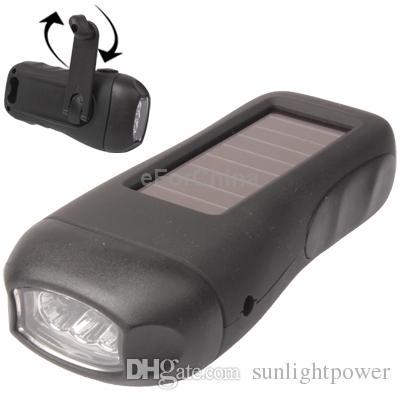 Güneş fener, Dinamo feneri, açık çok fonksiyonlu acil durum ışıkları, Solar şarj CampLed Camp Fener kaymaz Araba Acil Işık