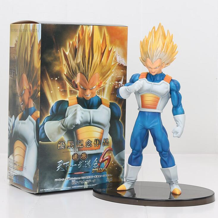 Großhandel Dragon Ball Z 20 Cm Super Saiyan Vegeta Scultures Große
