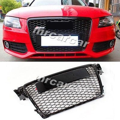 front grille honeycomb grill ,rs style auto car grille fit for audi