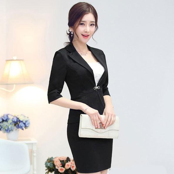 2017 Black Set Women Crop Top And Skirt Suit New 2015 Summer ...