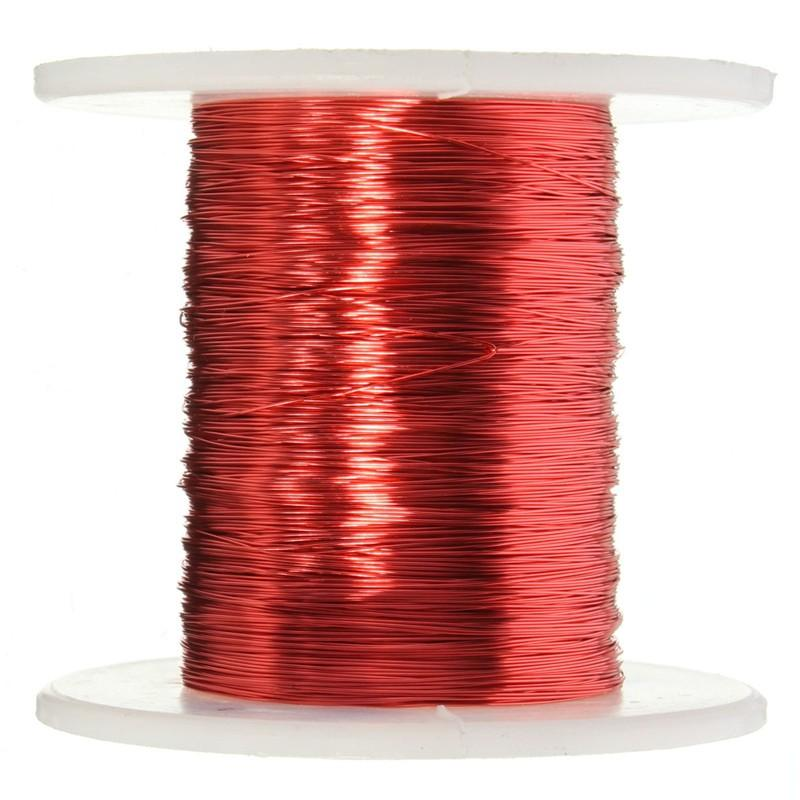 Hot Sale 100m Red Magnet Wire 0.2mm Enameled Copper Wire Magnetic ...