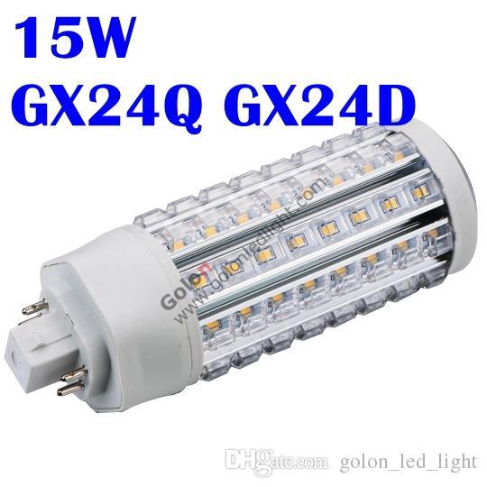 best gx24 led lamp plt lighting 360 degree to replace cfl lamp gx24q 4 pins 15w 13w 11w 9w gx24d e27 e26 dhl fedex led spotlight bulbs 100w led bulb from
