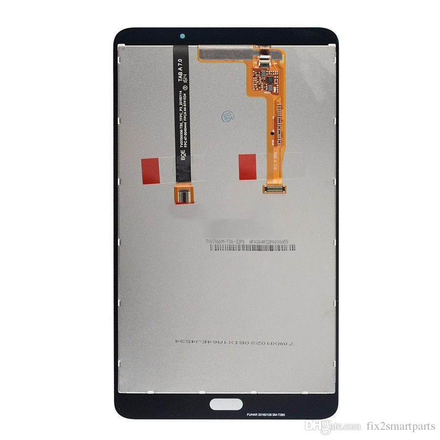 New T280 LCD Display Touch Screen Digitizer For Samsung Galaxy Tab A 7.0 T280 WiFi DHL