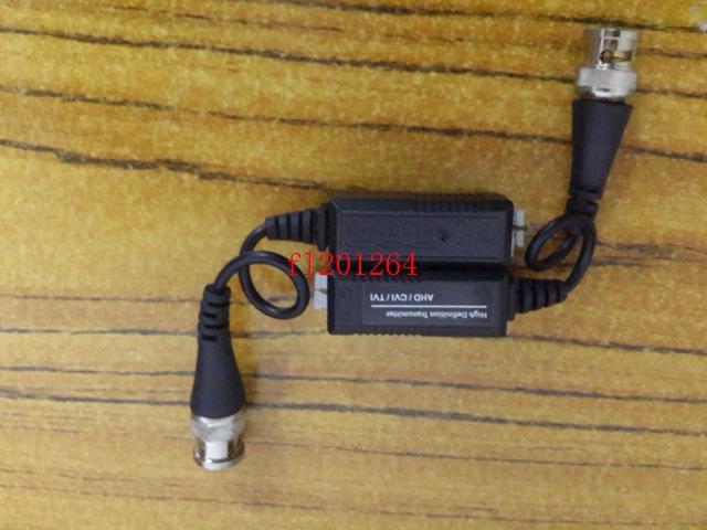 50 çift / grup CCTV Via Twisted Pairs verici HD CVI / TVI / AHD Pasif Video Balun Erkek BNC UTP Cat5 / 5e / 6 Ağ Kamera