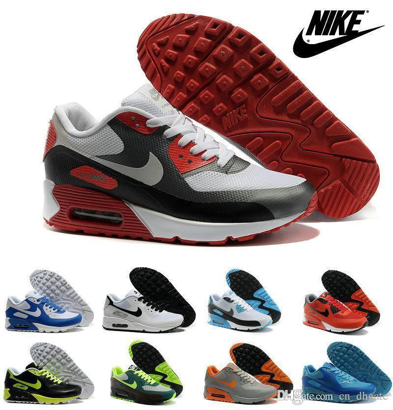 Nike Air Max 90 HYP PRM Herrenschuhe Weiß Hellgrau Gelb