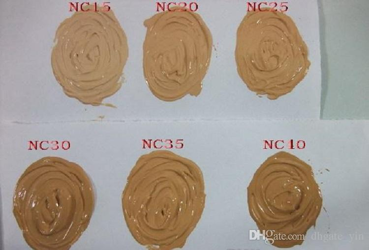 Maquillage Fond de teint liquide 30ML Long Lasting liquide de haute qualité Fondation visage Correcteur vente chaude
