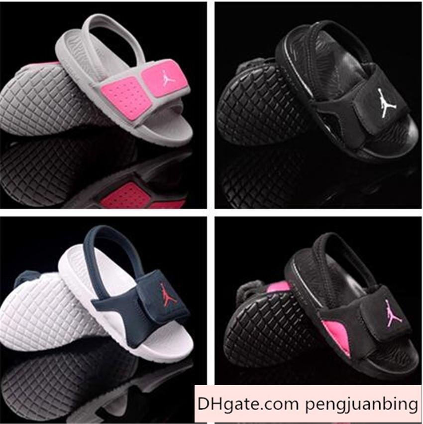 2015 Nike Air Jordan Shoes Kids Air Jordan Sandals Discount Children  Slippers Summer Children S Athletic Shoes Baby First Walking Shoe Boy Sport  Shoes Shoe ... 6b07eb0e3
