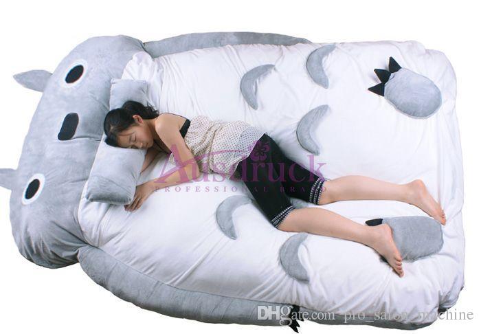 Min granne totoro säng barnleksaker totoro dubbelsäng kudde sovsäng väska soffa söt och bekväm