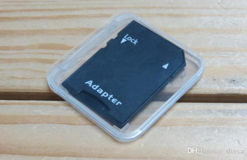 1000 قطعة / الوحدة جودة عالية بطاقة sd sdhc sdxc بطاقة الذاكرة حماية القضية حامل البلاستيك مربع الحالات جوهرة