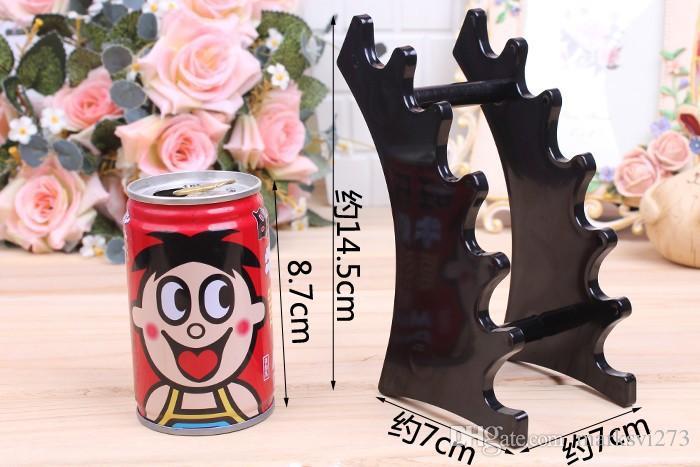 Pen Display Stand Plastic 6 Booths Pen Holder ecig Display Stand e-Liquid Holder Jewelry Display Stand Pen Storage Rack Shelf
