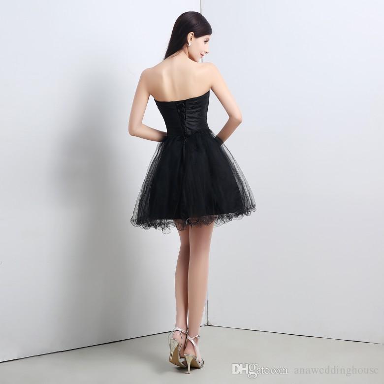 2015 черный сексуальный короткое платье выпускного вечера с вышитыми Кристалл блесток реальная картина платья партии блестки Кристалл дешевые мини Coaktail платья