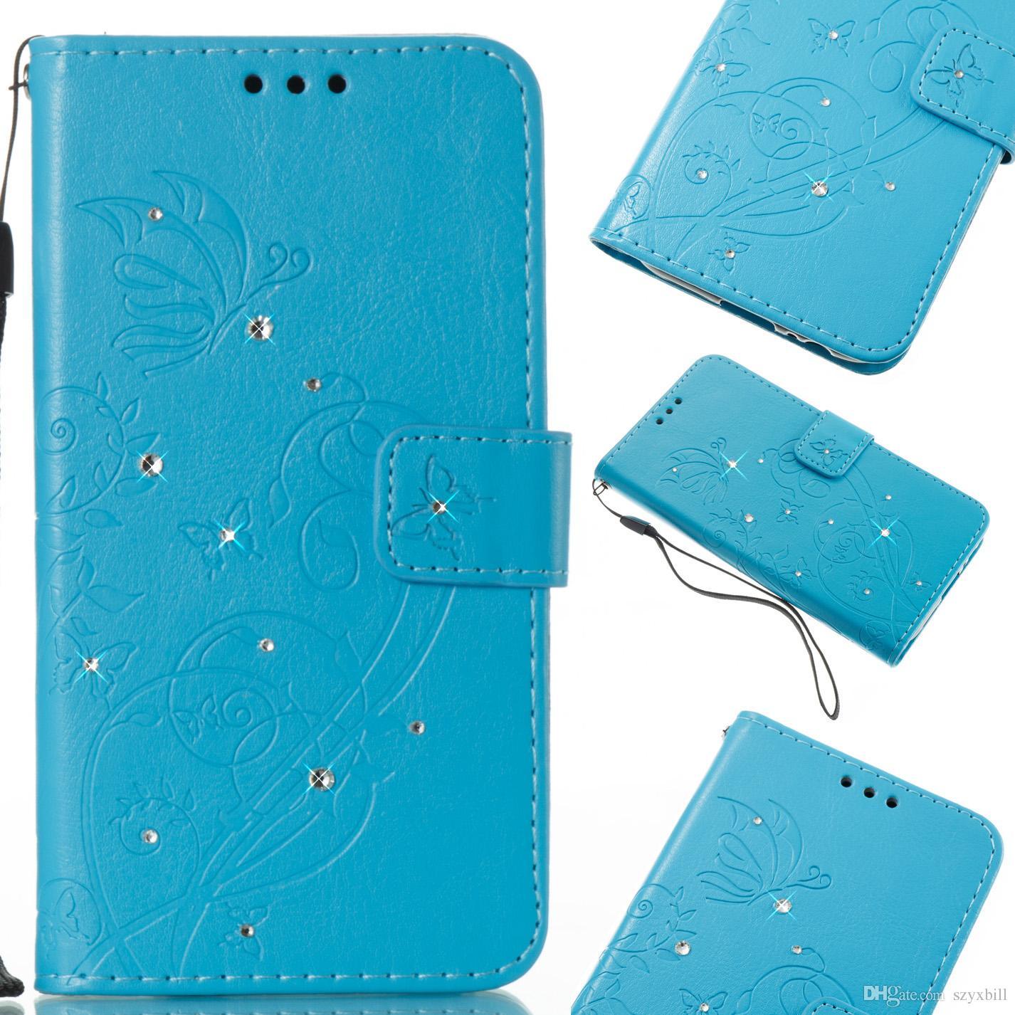 Luxus diamon print ledertasche für iphone x 8 7 6 6 s plus case rückseitige abdeckung für iphone 7 7 plus fällen telefon shell