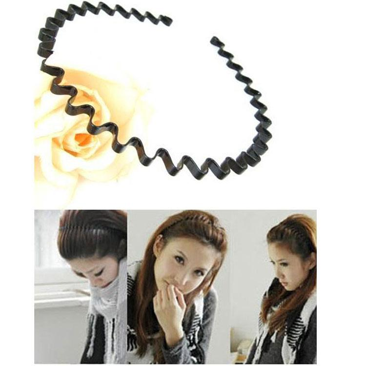 Wholesale Korea Hair Accessories Wave Headbands Birthday Boys Girls