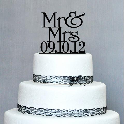2018 Wholesale Personalized Wood Wedding Cake Topper/Wedding Cake ...