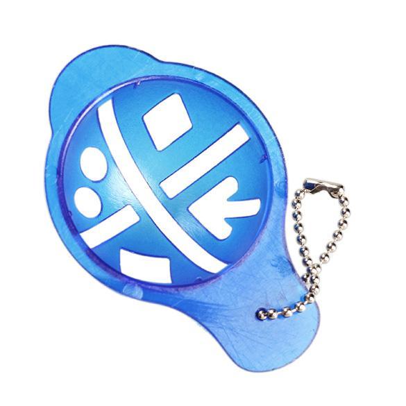 Bola De Golfe Linha Linear Marcador Template Swing Ferramenta De Alinhamento De Desenho Azul HB88