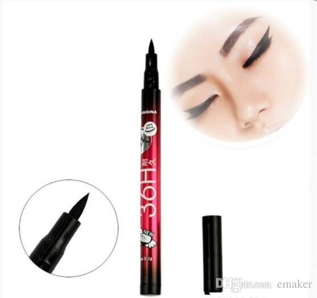 À Prova D 'Água Preto Delineador Líquido Compõem Beleza Comestics Eye Liner Lápis presente de alta qualidade Navio Livre