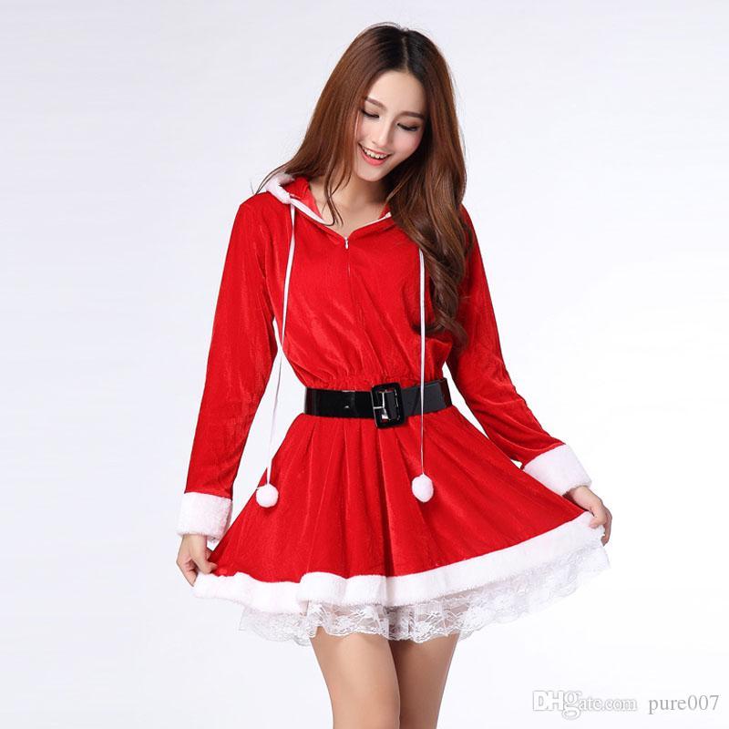 Nice Christmas Party Dresses: Nice Ladies Christmas Dress Sexy Christmas Dress Costume