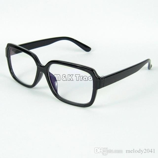 Brillen Shop Mode Optische Rahmen Retro Glasrahmen Klare Linse Strahlenschutz Computer Brille 20 teile / los Kostenloser Versand