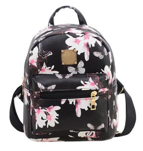 61eb96458016 2017 Women Classic Backpack Girls Washed Leather Preppy Style School ...