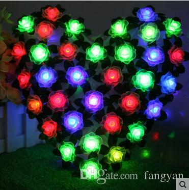 70LED great love of holiday lights Christmas window decoration wedding supplies birthday decorative love large LED lantern string