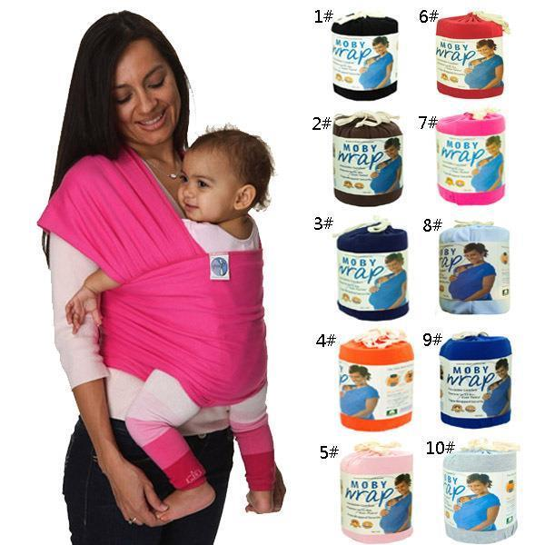 Cotton Baby Sling Stretchy Wrap Baby Carrier For Mom And Dad 0 3