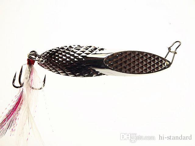 SıCAK 10 ADET 7 cm 18g 0.63 oz Kaşık Uzun atış Düşük sürükle Ananas cazibesi balıkçılık yem Sert Yemler Lures Yapay Balıkçılık Cazibesi Yüksek Kaliteli! HCDP