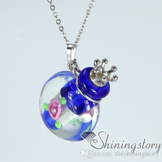 Ожерелье из урны для праха Памятные подвески Ожерелье из урны Ожерелье для праха в урнах для домашних животных Пепел