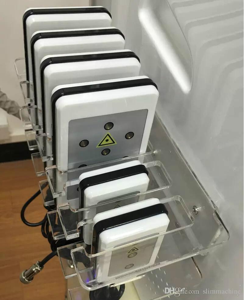 Hot sale!!!! 2 Cryo Handle Portable Cryo lipolysis Fat Freezing Machine Diode Lipo Laser Cavitation RF Slimming Machine