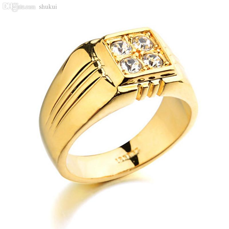 Engagement rings gold for men